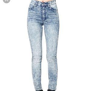 Cheap Monday Acid Wash Jeans